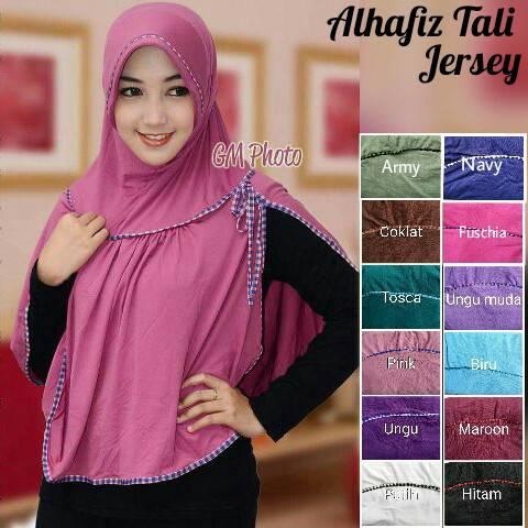 AlHafiz Tali Jilbab Hijab Instan Spandek Jersey Grosir