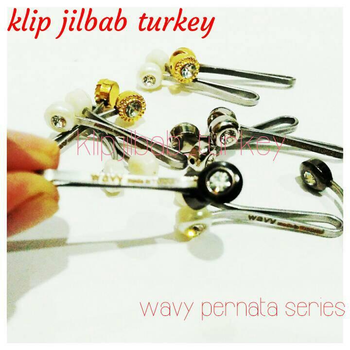 klip jilbab / clip hijab / wavy permata