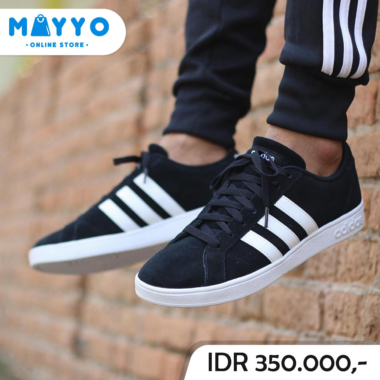 Jual Sepatu Adidas Neo Derby Vulc (Black White) Original - MAYYO ... b8597d48fc
