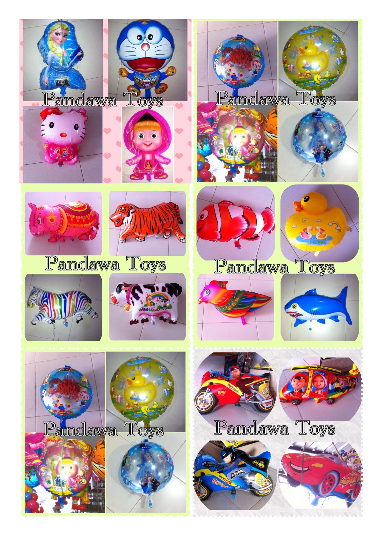 Jual 5pc Balon Gas Karakter Stick Foil Motif Ultraman Pandawatoys Tokopedia