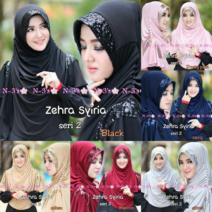 Hijab/Jilbab Syria Zehra
