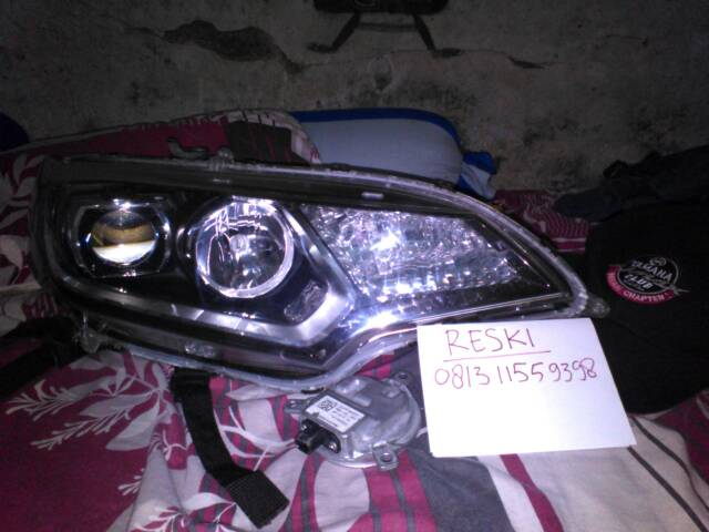 headlamp honda jazz