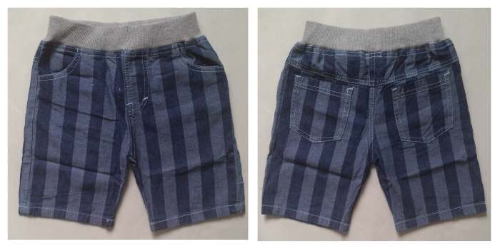 CLKDL11 - Celana Pendek Anak Laki Jeans Wash Salur Besar Murah