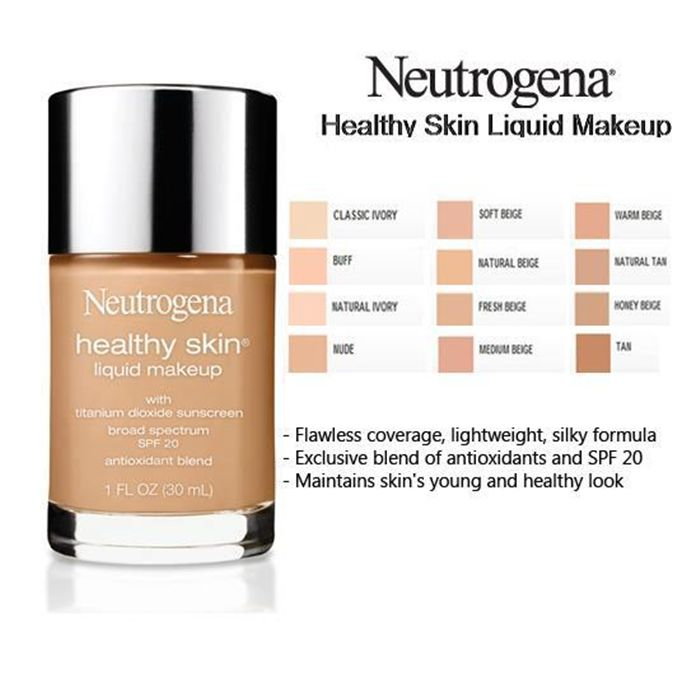 Healthy skin foundation