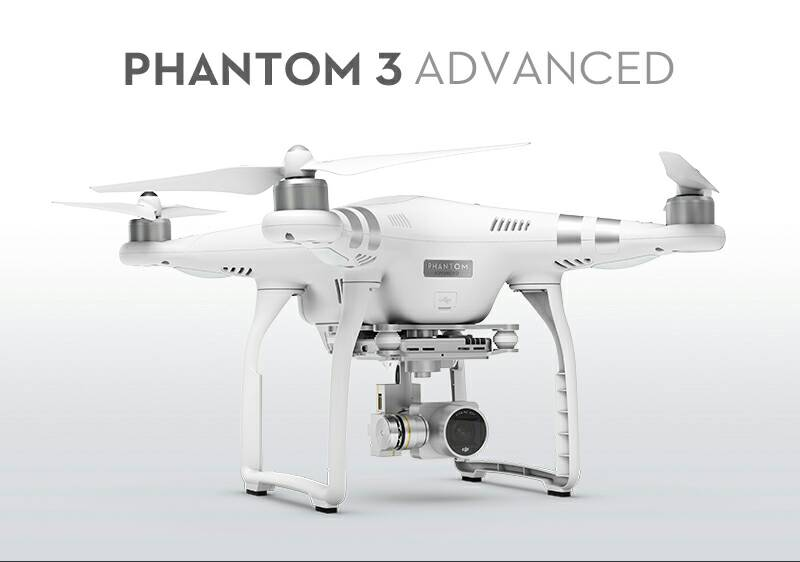 DJI Phantom 3 RC Quadcopter Advanced With 1080p HD Camera RTF
