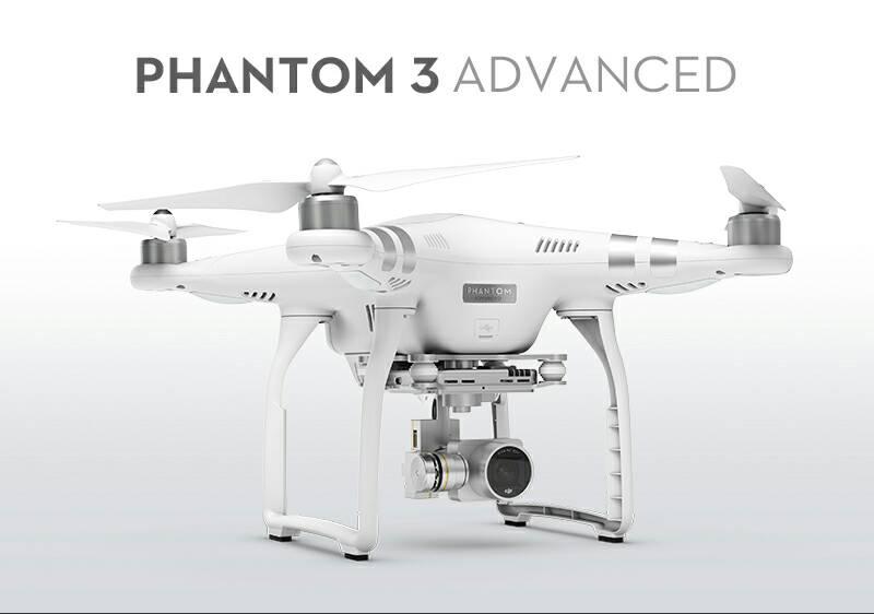 DJI Phantom 3 RC Quadcopter Advanced With 1080p HD Camera RTF