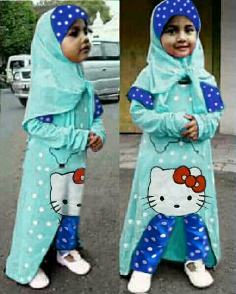 hijab Tasya Kitty Tosca kid KIS