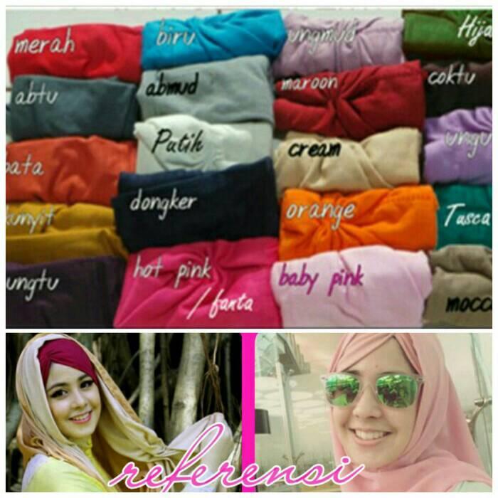 ciput arab kerut/ ciput risty tagor/ inner jilbab / inner hijab