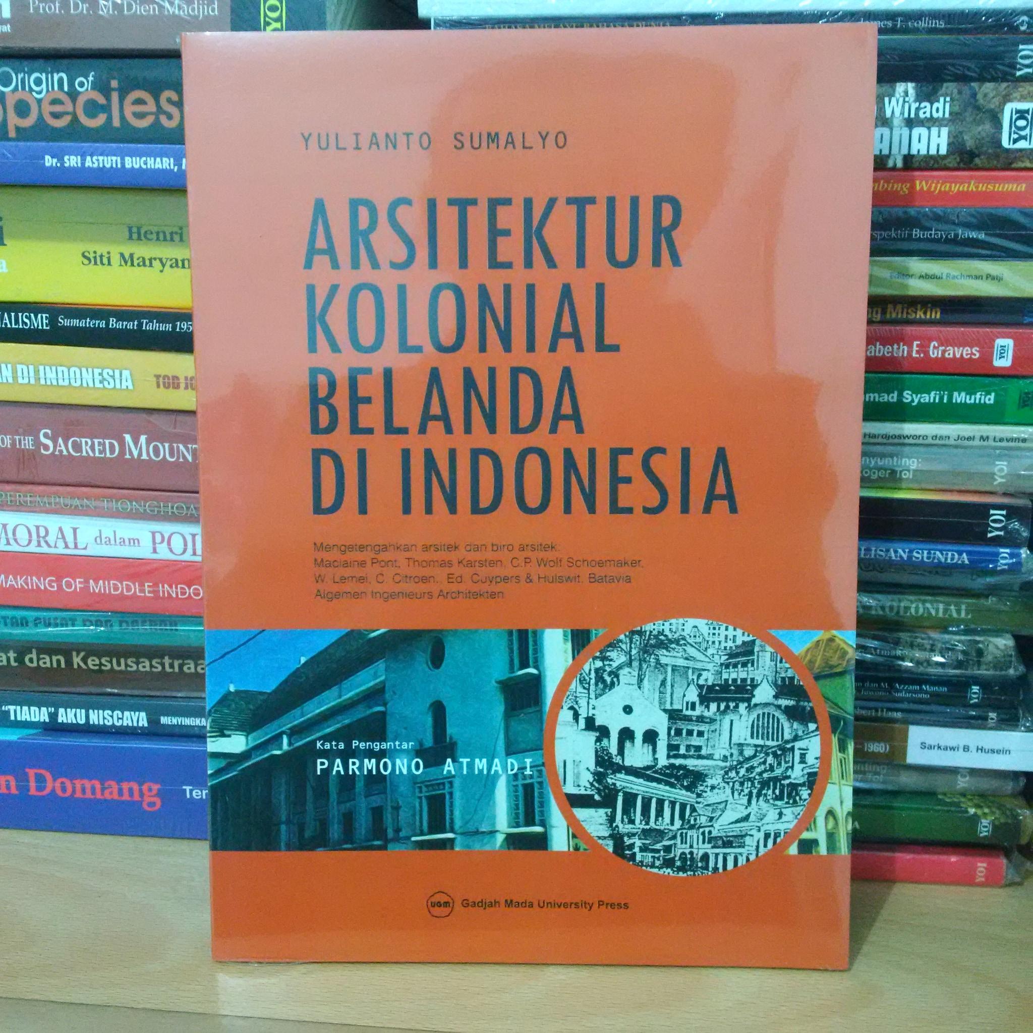 Jual Arsitektur Kolonial Belanda di Indonesia - Kedai Buku Bekas ...