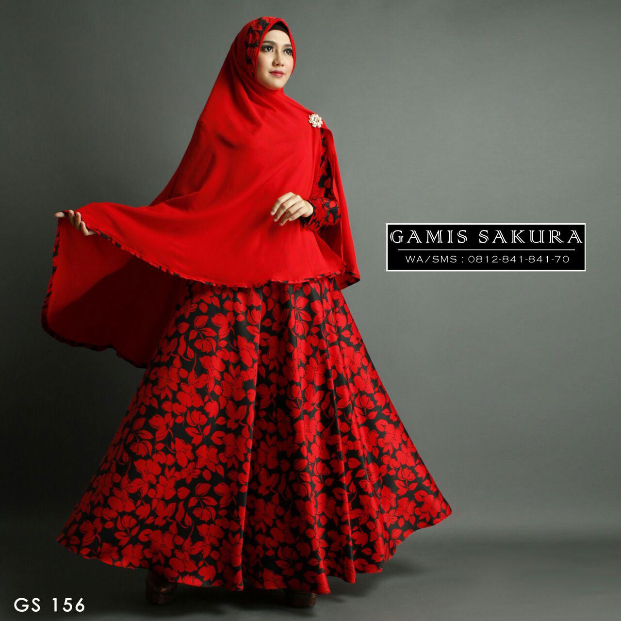 Jual Gamis Khimar Cantik Baju Gamis Muslim Terbaru Gamis