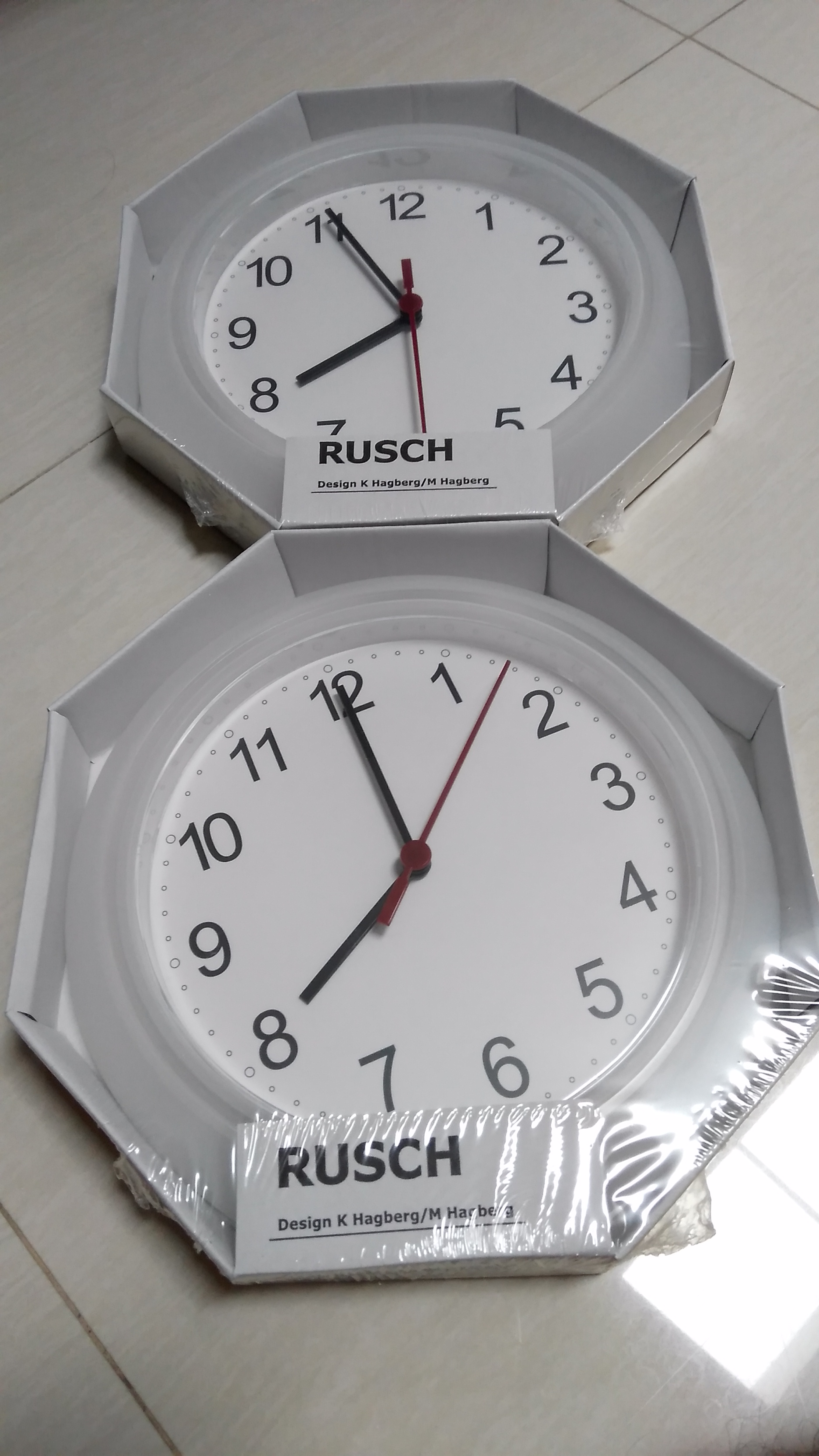 Ikea Rusch Jam Dinding Clock Wall Putih Daftar Vackis Beker Best Seller By Jual Wakakaka
