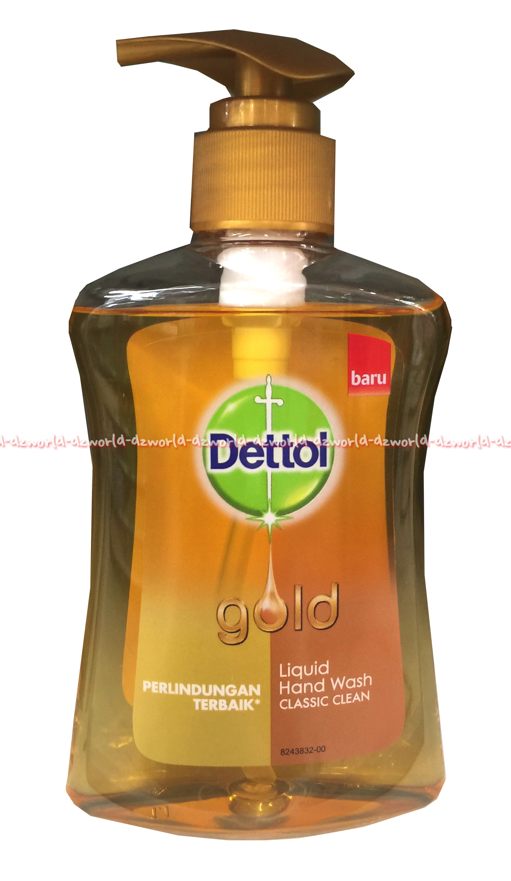 Dettol Gold Liquid Hand Wash Sabun Cuci Tangan Detol Gold 200ml