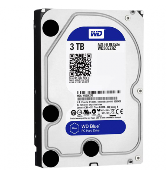 WDC 3TB SATA3 64MB - Blue - WD30EZRZ - Garansi 2 Th