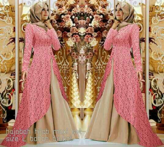 CJN_ Hajabah Hijab(salem) - Gamis Hijab
