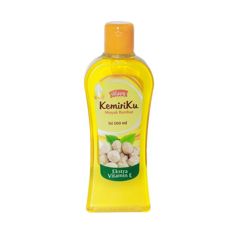 jual happy kemiriku minyak rambut mengandung minyak kemiri - aschan Merk Minyak Kemiri Yg Bagus Untuk Rambut
