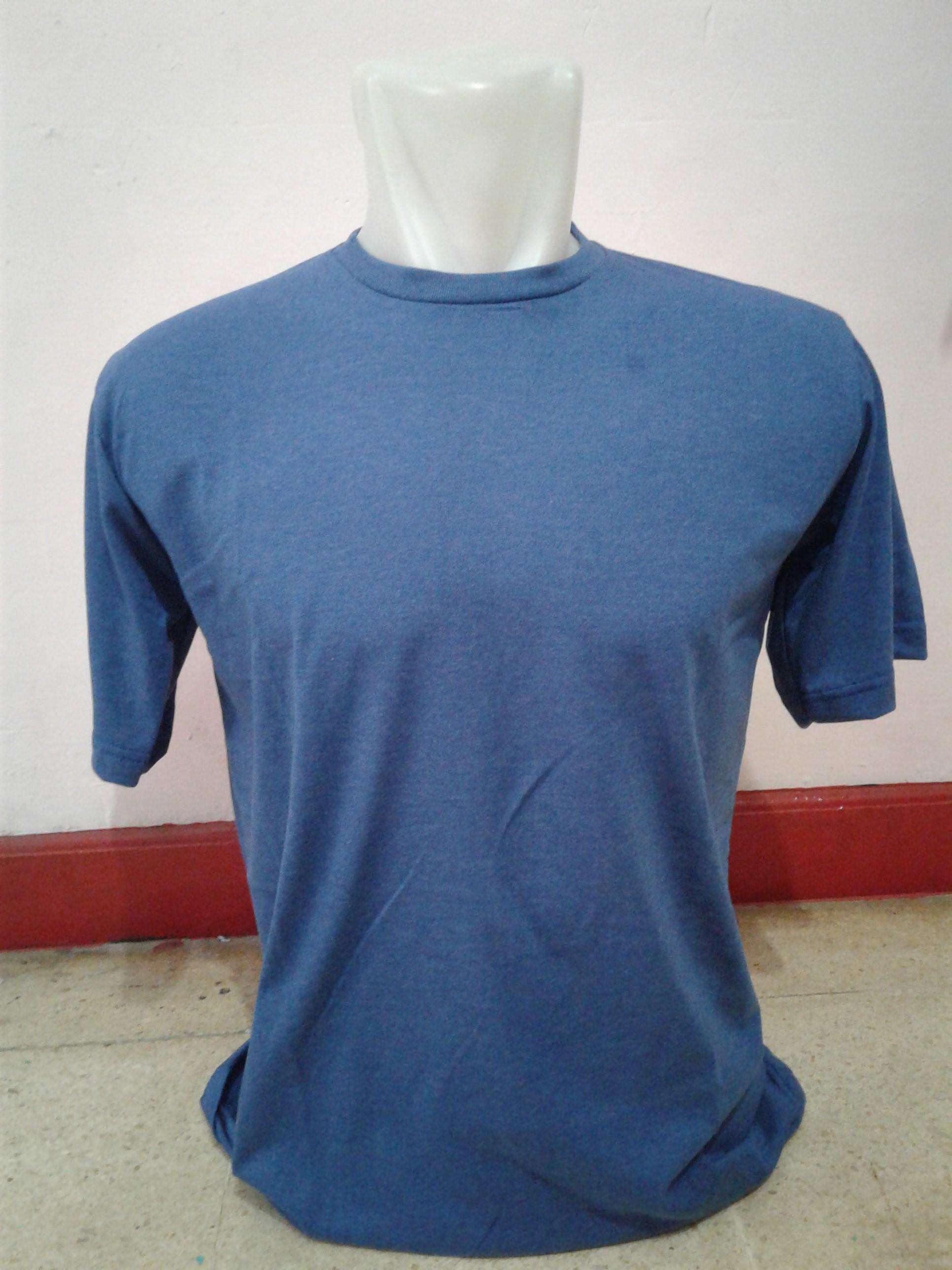 Jual Murah Kaos Polos Cotton Combed 30s Diskon Sky Navy Misty Blue Satibi Tokopedia