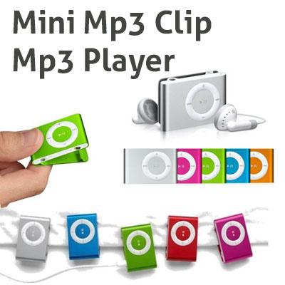 MP3 PLAYER - MINI CLIP
