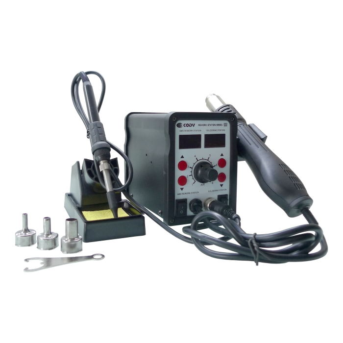 jual solder uap blower s station cody 858 digital 2in1 cody tokopedia. Black Bedroom Furniture Sets. Home Design Ideas