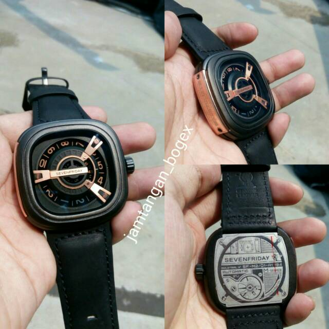 JAM TANGAN SEVENFRIDAY M SERIES ROSEGOLD SEVEN FRIDAY