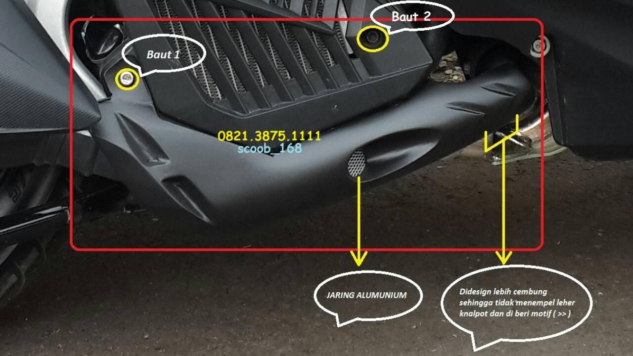 Ulasan Produk Cover Knalpot Vario 125 150 ESP Versi 2 Custom