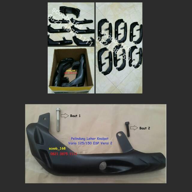 Jual Pelindung Knalpot Vario 125 150 ESP Versi 2 Custom