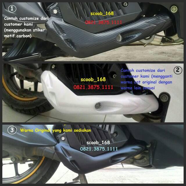 Ulasan Produk Pelindung Leher Knalpot Vario 125 150 ESP Versi 2 Custom