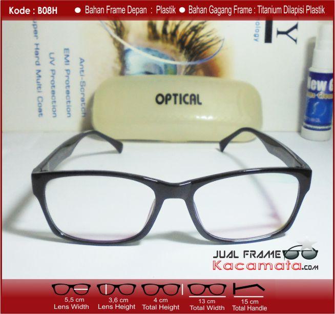 Laki Yang Bergaya Keren Anak Cewek Kacamata Hitam Bingkai Kacamata Plastik.  Source . a3b457f990