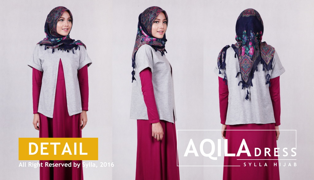 SYLLA HIJAB - AQILA DRESS