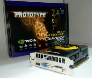 vga prototype GT220 1gb 128bit murah