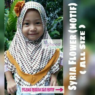 kerudung/ hijab / jilbab anak balita size s ( 1-5 tahun )