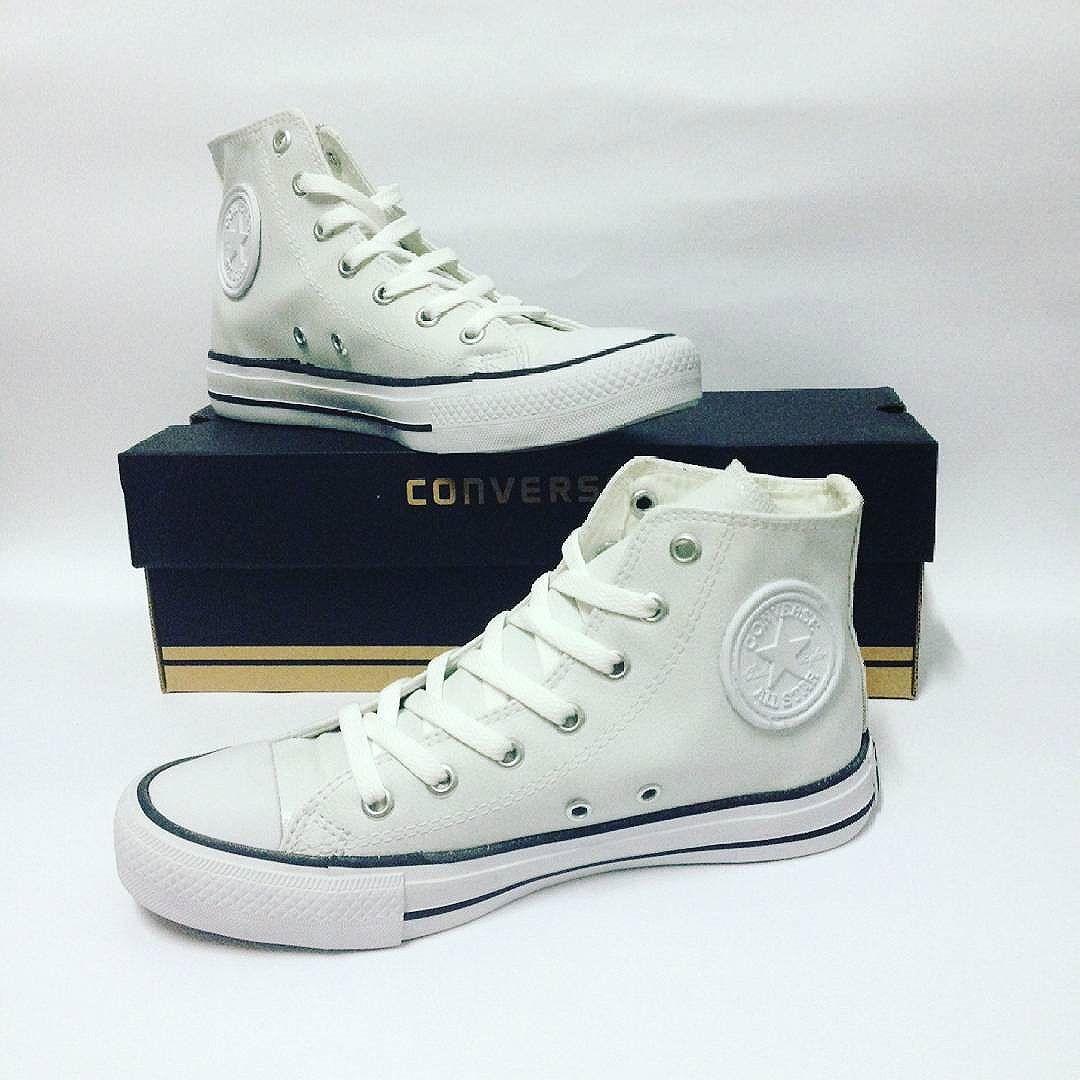 Jual sepatu converse leather (kulit) high   sepatu terbaru   sepatu kulit  ... 593a5df39a