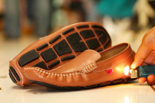 Sepatu Kickers Moccasin M01 Warna Tan Kulit Asli