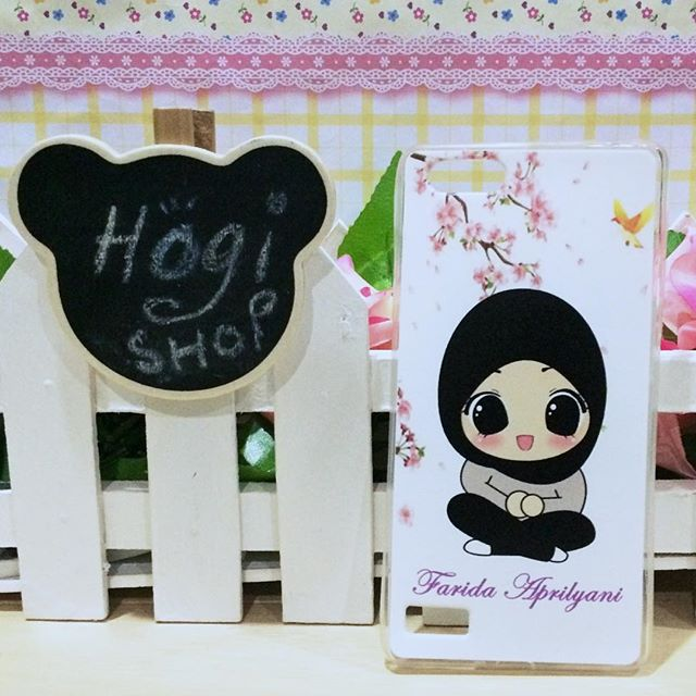 Oppo Neo 7 - Softcase Custom Case Casing hijab Custom nama