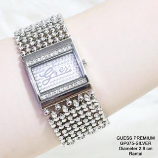 Jam tangan wanita GUESS MERICA premium gold silver grosir termurah
