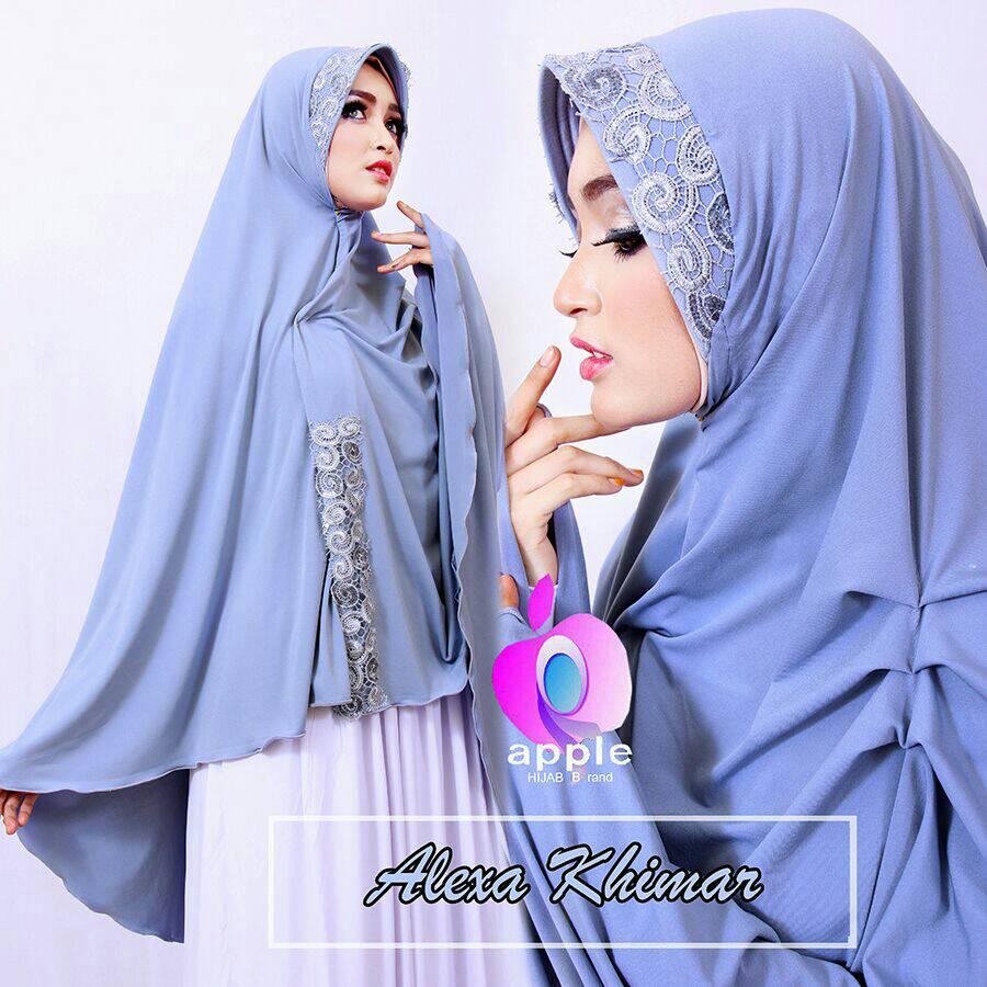 Khimar Alexa By Apple Hijab Brand