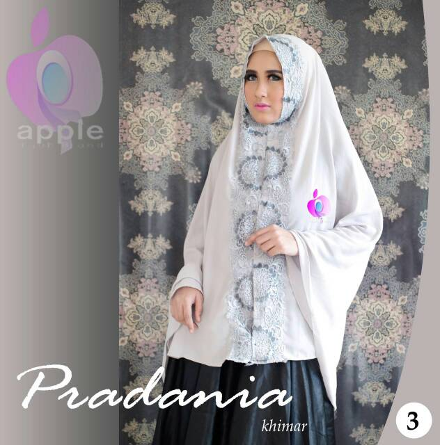 Pradania Khimar Eksklusif By Apple Hijab Brand