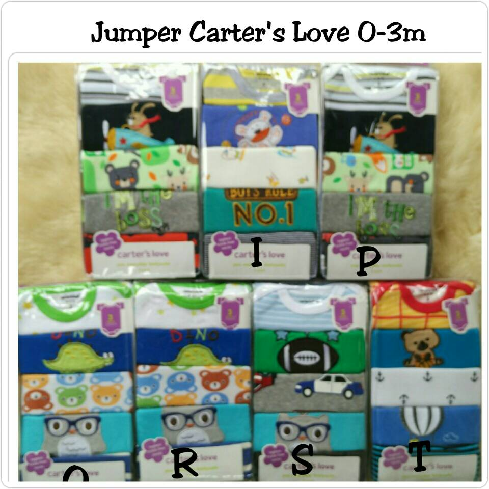 Jual Carters Love Short Jumper Babyboy Onbabyshop Carter Tokopedia