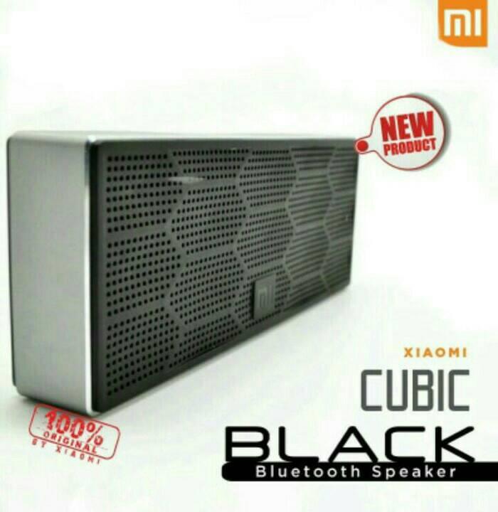 Xiaomi Speaker Bluetooth Portable Square Cube Original Bass Stereo Source · Putih Source Jual Xiaomi Speaker