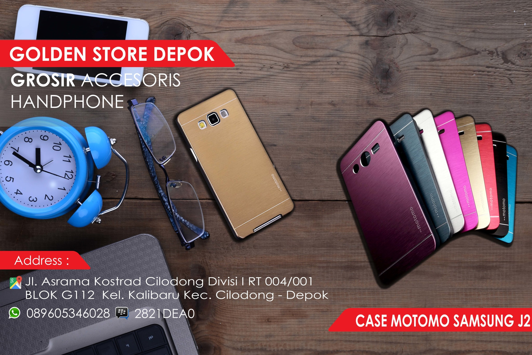 Motomo Vivo Y21 Y22 Metal Hardcase Back Cover Case Color J200 Source Jual Samsung Galaxy
