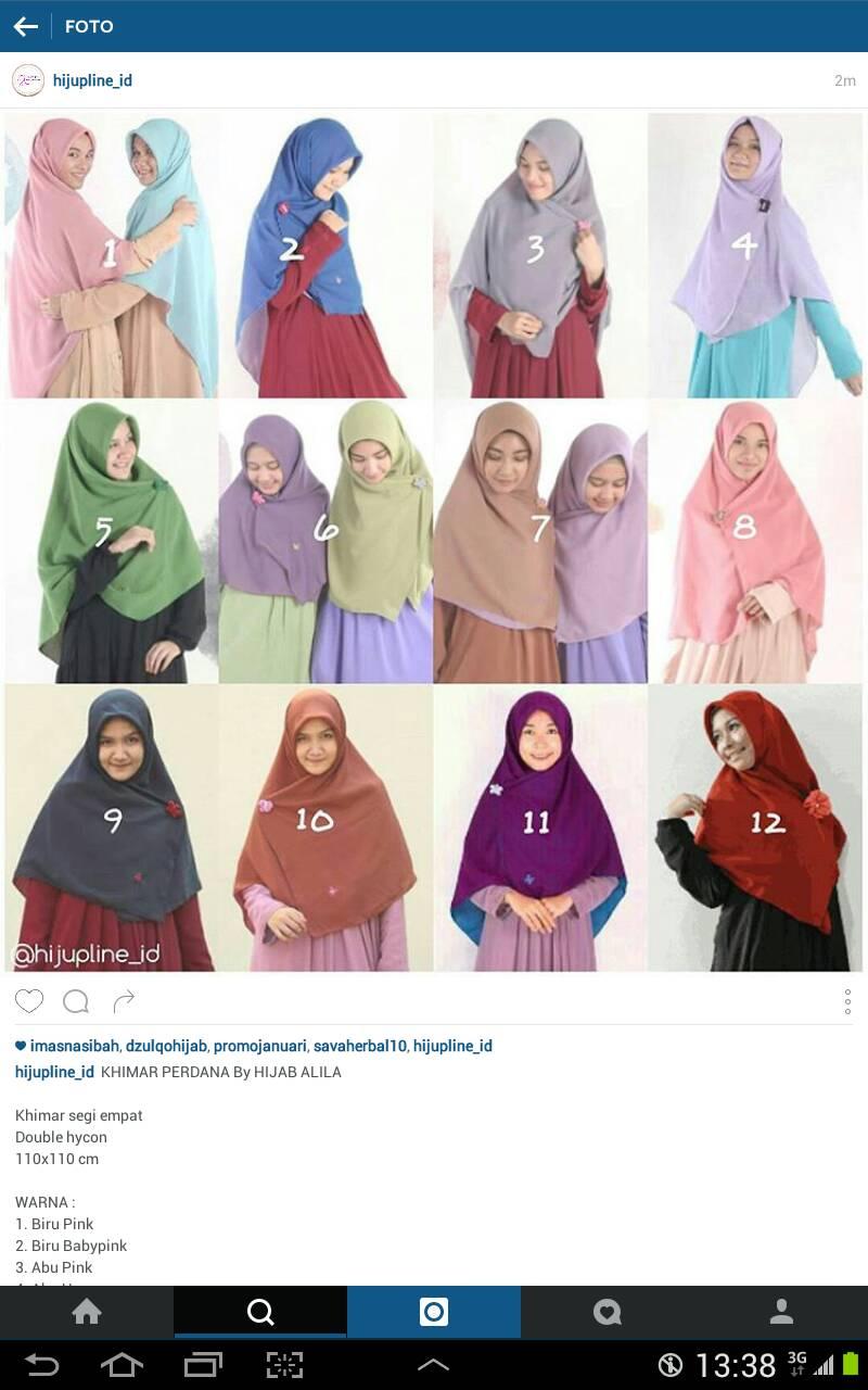 Galeri Gambar Kartun Hijab Alila 2019