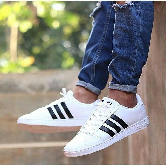 Adidas Neo Baseline White Black