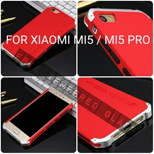 Jual Casing Xiaomi Mi5 Mi 5 Case Cover Bumper Glass