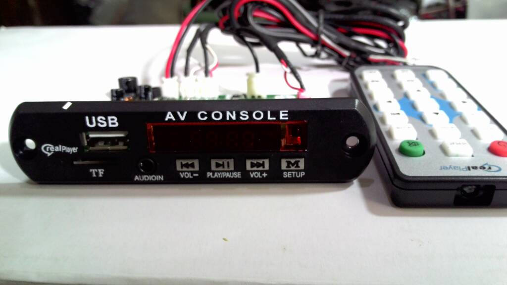 Modul MP5 AV Console [Bisa Video]