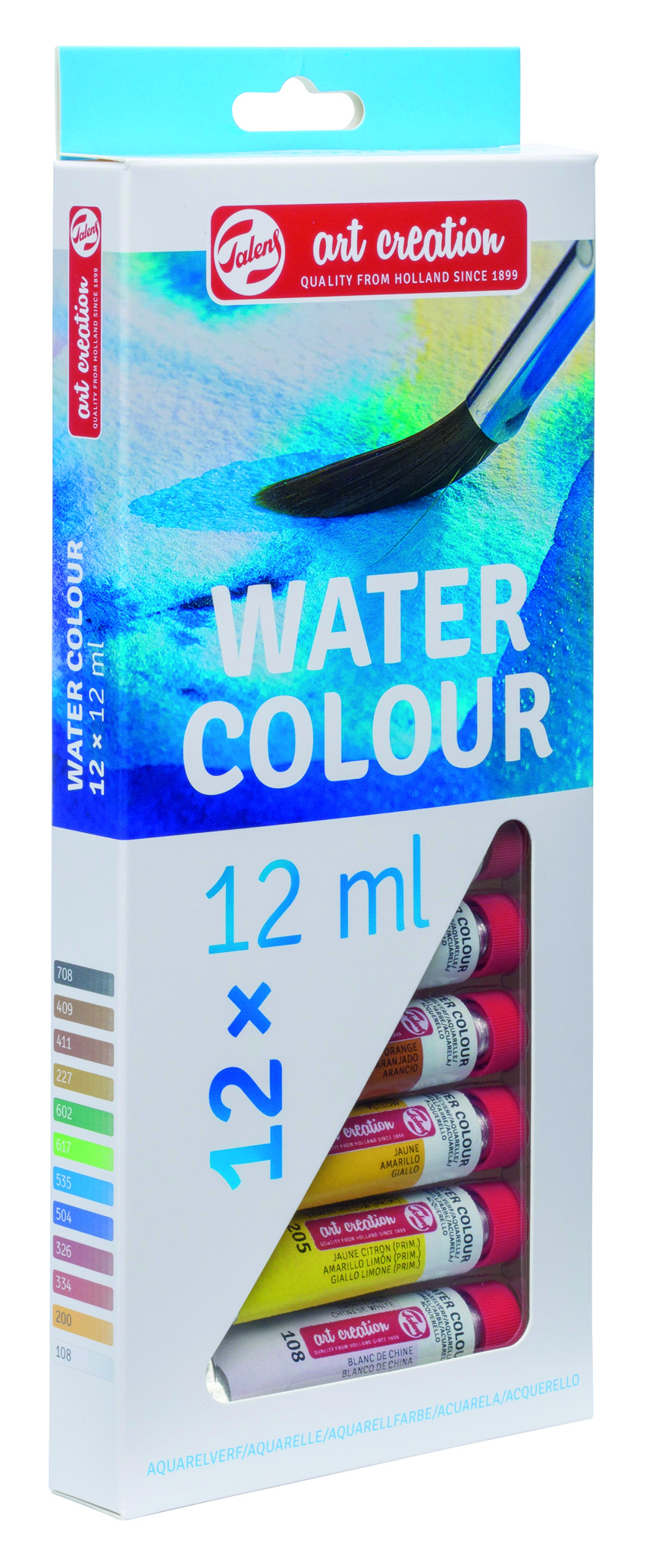 TALENS ART CREATION WATERCOLOUR SET 12 X 12 ML