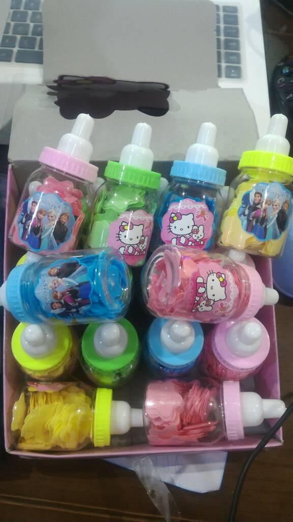 Sabun Kertas Bentuk Botol Susu