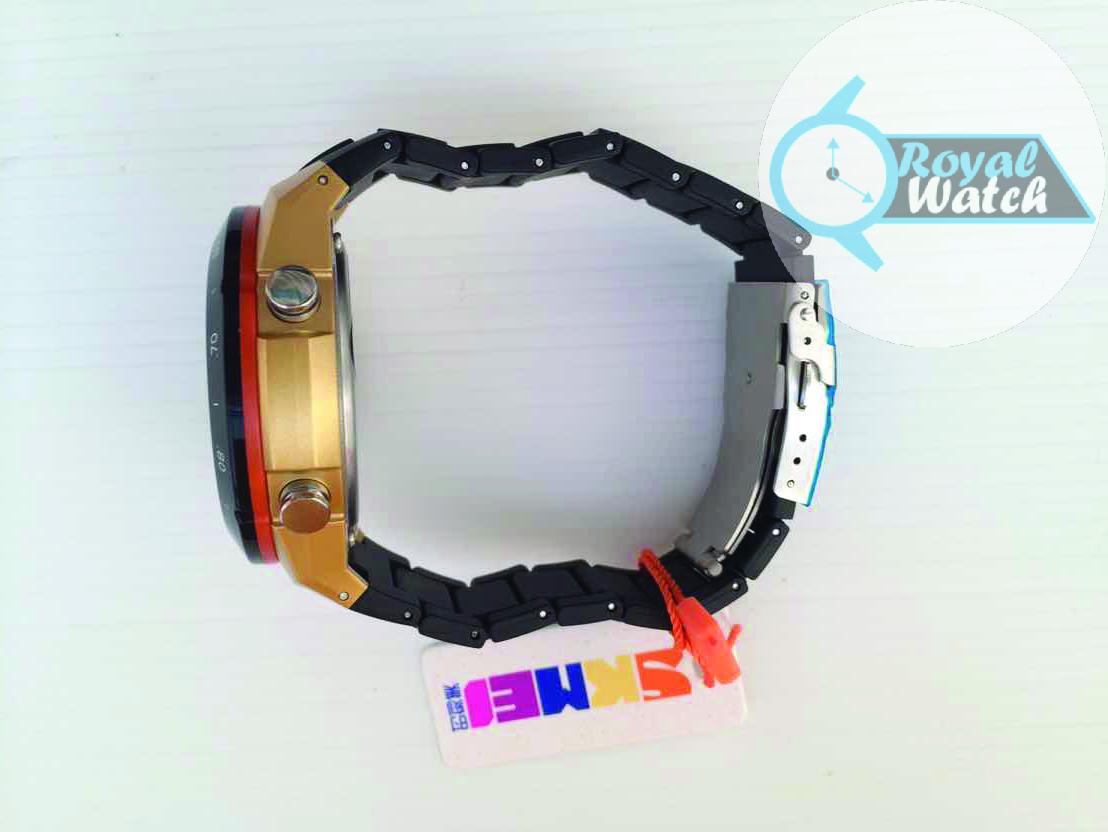 SKMEI AD1016 Gold Jam tangan pria LED