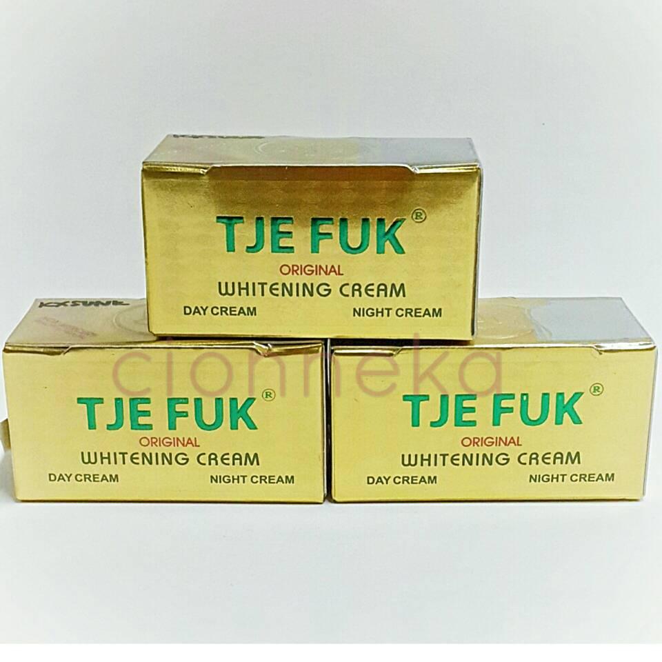 Jual Tje Fuk Whitening Cream Cionneka Tokopedia Night Original