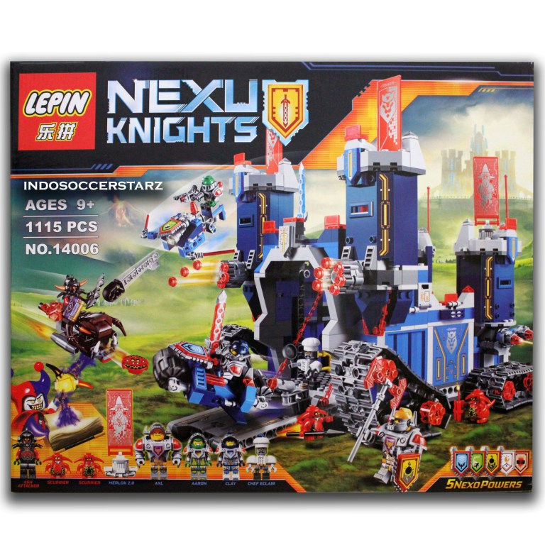 Monsterboken Karaktrer LEGOcom Nexo nights t Source Lego Brick Princess SY