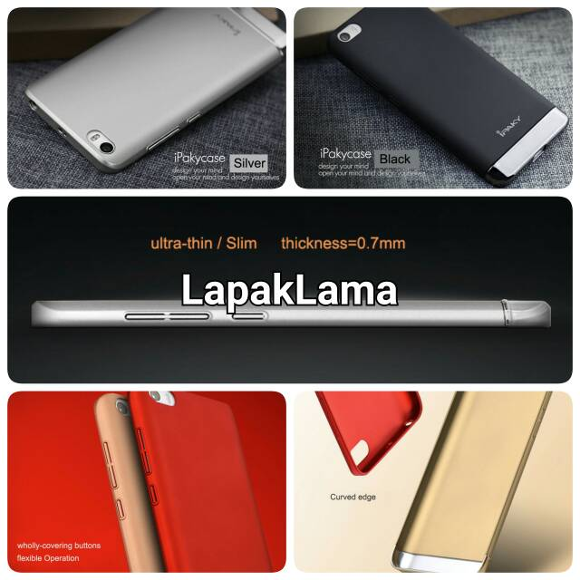 Jual Case Ipaky Generation Xiaomi MI5 Mi5 ORIGINAL XIAOMI