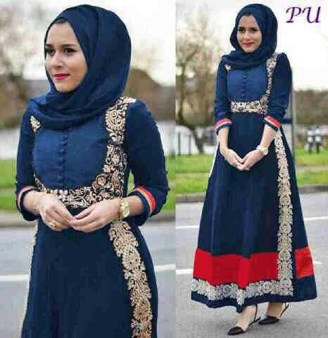 Hijab veneta / fathia navy prada